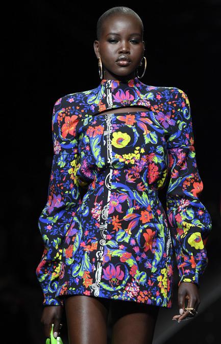 La sfilata Versace per l'autunno-inverno 2020-2021 - Il ...