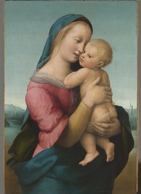 Raffaello, Madonna Tempi, 1507-1508, olio su tavola / oil on panel, Monaco, Bayerische Staatsgemäldesammlung Alte Pinakothek, © BAYERISCHE STAATSGEMÄLDESAMMLUNGEN