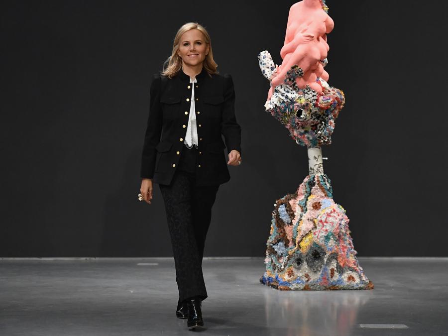 La stilista Tory Burch (Photo by Angela Weiss / AFP)