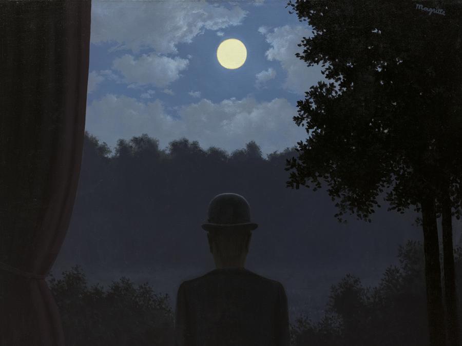 Lotto  32 - Rene Magritte.     A la recontre du plaisir