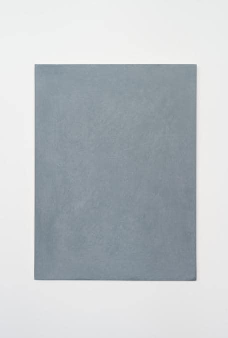 Ettore Spalletti, Carta, 1980, Pigmento su carta compressa, 40x30 cm (courtesy Galleria Massimo Minini)