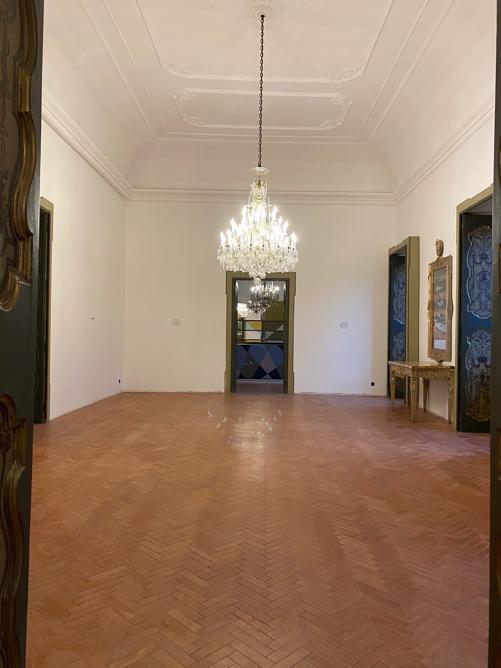 Palazzo Luce, Lecce, Stanza della musica