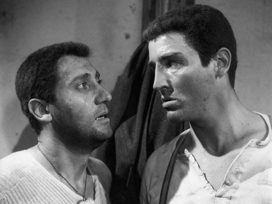 In La grande guerra di Mario Monicelli, con Vittorio Gasman (1959) (Afp)