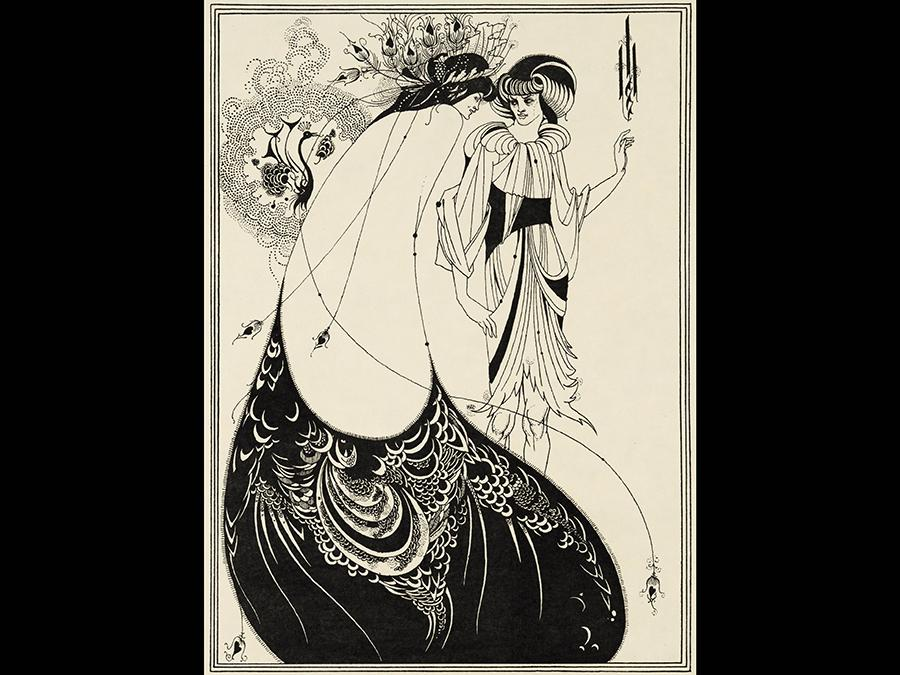 Aubrey Beardsley (1872-1898). Illustrations for Oscar Wilde's Salome 1893