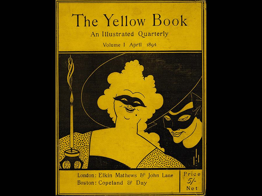 The Yellow Book Volume I 1894. Bound volume. Stephen Calloway (Copyright: Tate)