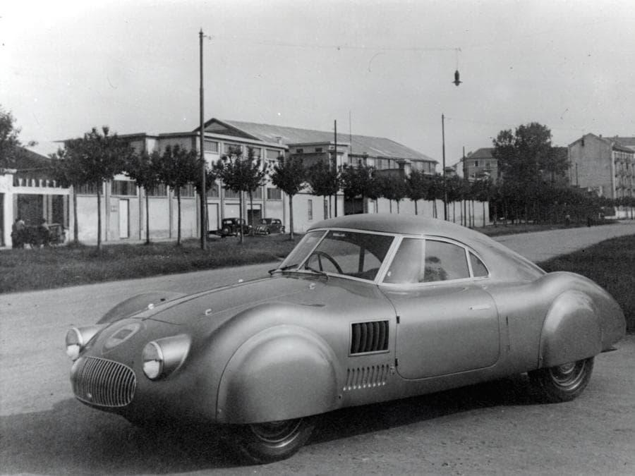 Lancia Aprilia Aerodinamica 1936