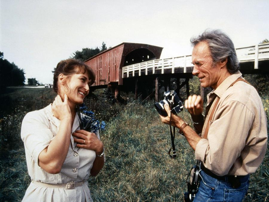 1995 - I ponti di  Madison county - Meryl Streep e Clint Eastwood. (Collection Christophel / RnB © Warner Bros)