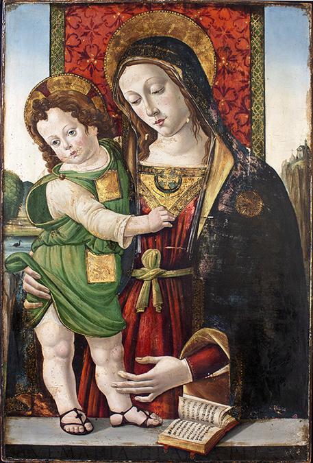 Madonna - Pinturicchio