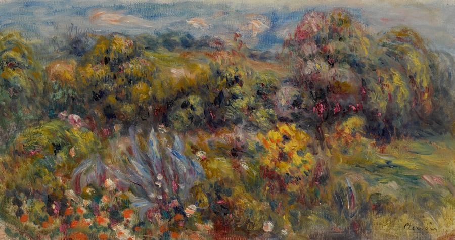 Pierre-Auguste Renoir, Paysage du Midi
