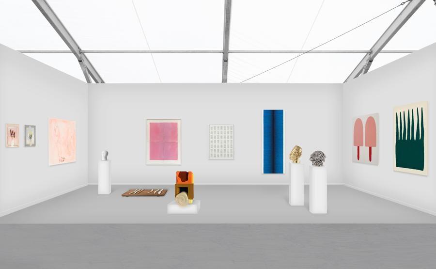 Lo stand virtuale della galleria P420 a Frieze Viewing Room