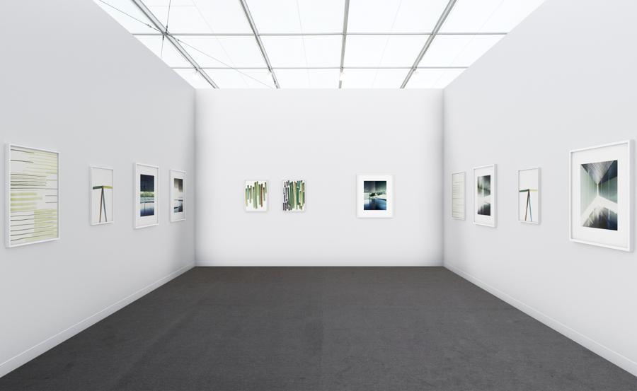 Lo stand virtuale della galleria Raffaella Cortese a Frieze Viewing Room