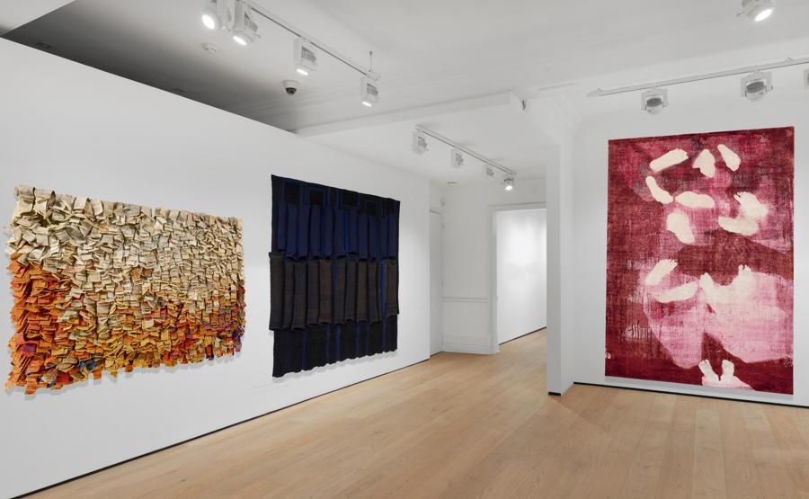 Lo stand virtuale della galleria Richard Saltoun a Frieze Viewing Room