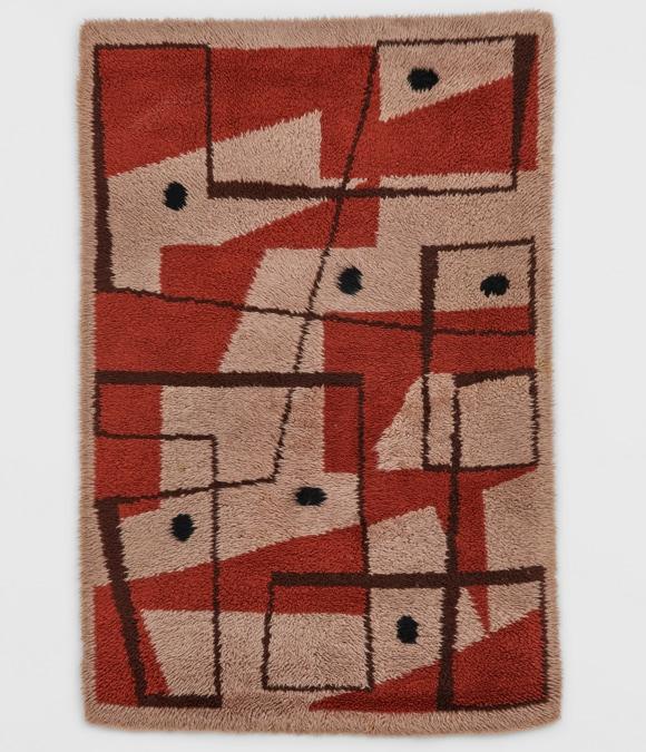 Bice Lazzari, Senza Titolo 1950-51, lana, 210 x 146 cm, venduto da Richard Saltoun a Frieze Viewing Room