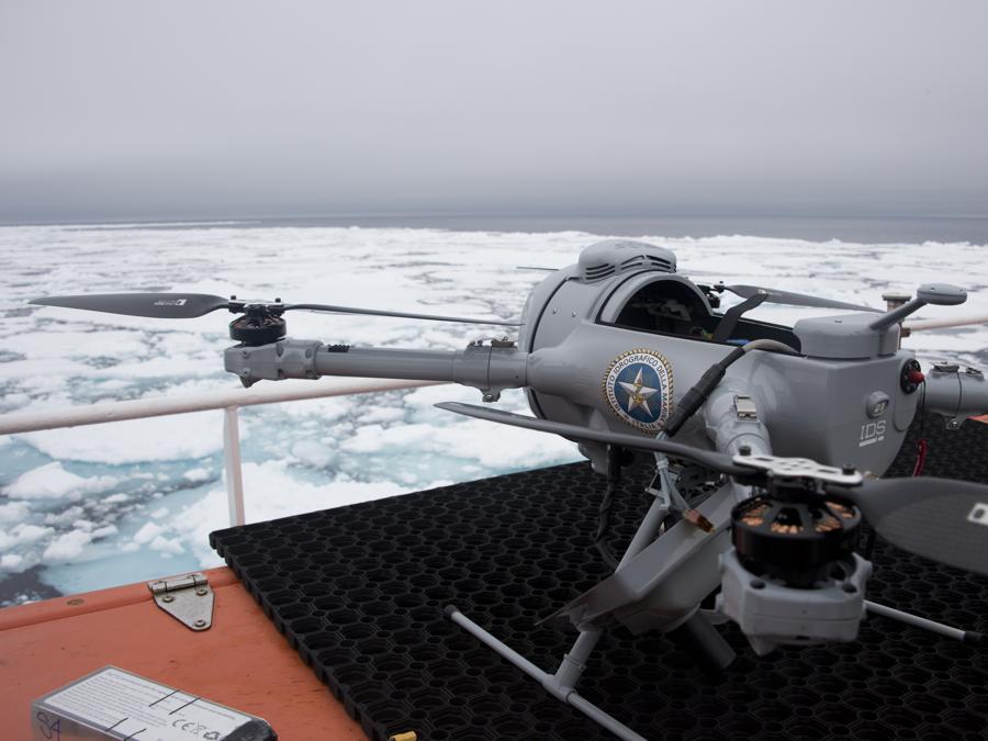 Un drone della Marina