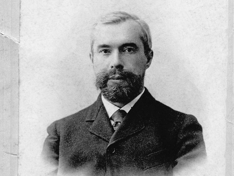 Sergej Ščukin da giovane, 1890 circa