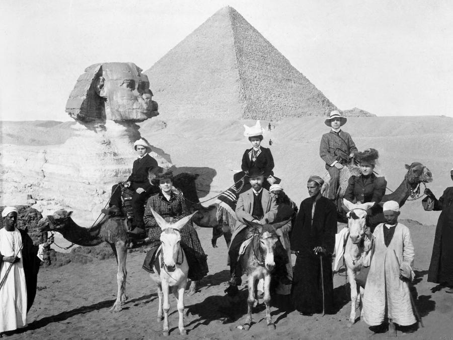 4.La famiglia Ščukin in Egitto, 1906