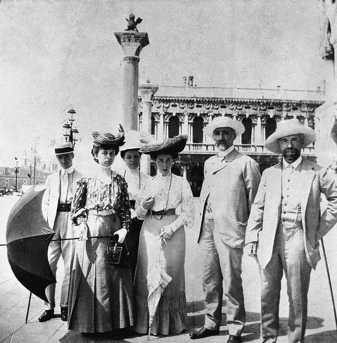 La famiglia Ščukin a Venezia, 1912