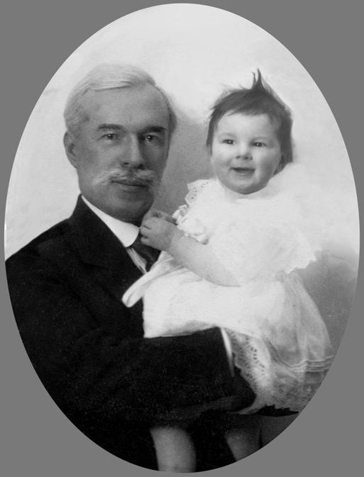Sergej Ščukin e la figlia Irina, 1916