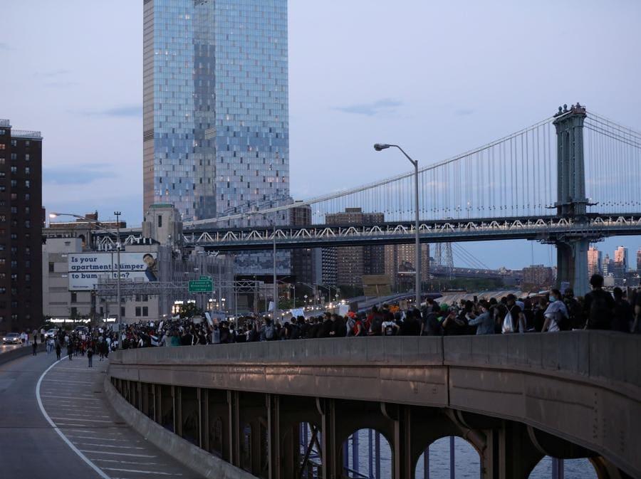 Proteste a New York. (REUTERS/Caitlin Ochs)
