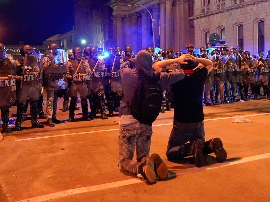 Proteste a Louisville (Kentucky). (REUTERS/Bryan Woolston)