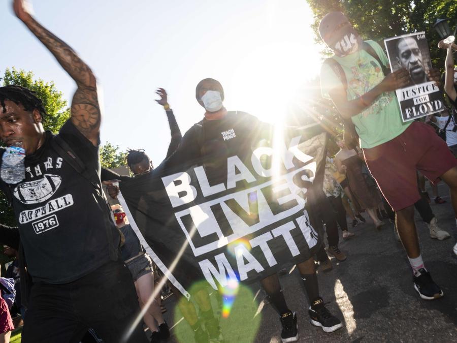 Proteste a  St. Paul, Minnesota. (Stephen Maturen/Getty Images/AFP)