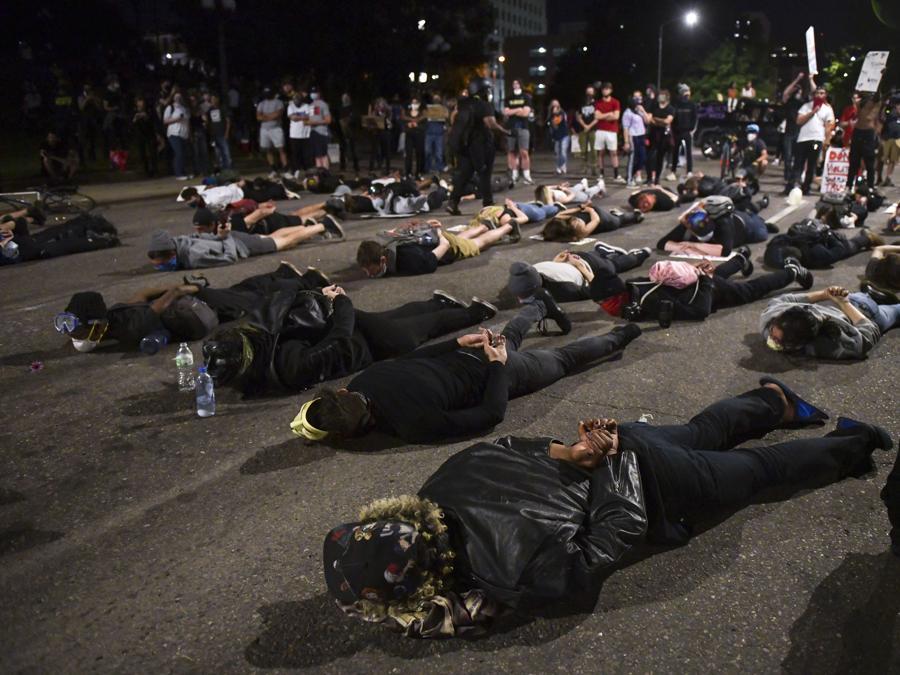 Proteste a Denver, Colorado. (Michael Ciaglo/Getty Images/AFP)