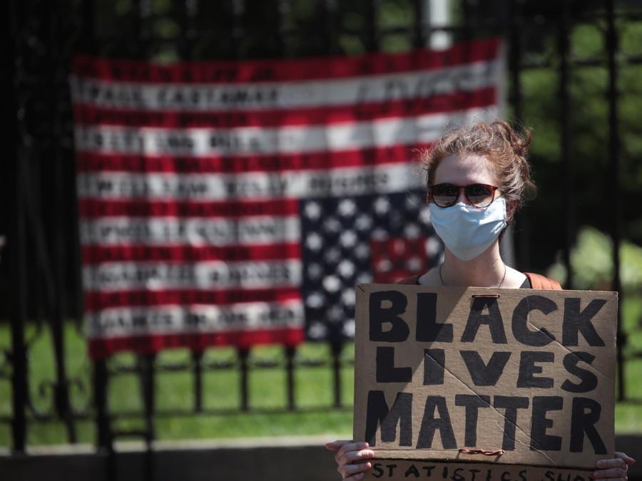 Proteste a  St. Paul, Minnesota. (Scott Olson/Getty Images/AFP)