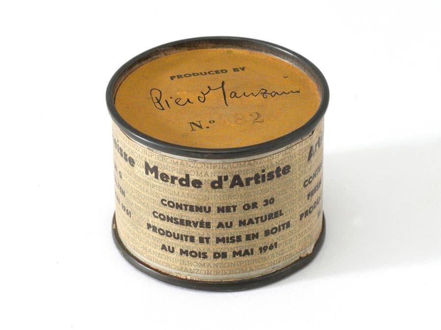 Piero Manzoni Merda d'artista del 1961 Stima: 120.000 - 180.000 Euro aggiudicata per 250.000 Euro