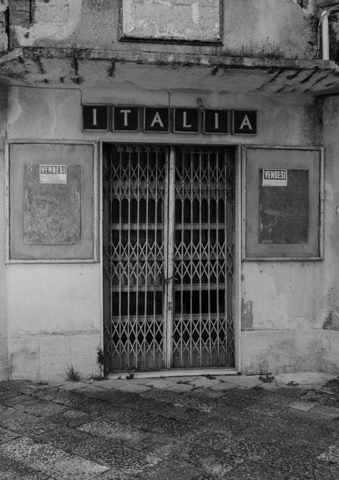 Salemi, l'ex cinema Italia (Foto: Francesco Bellina)