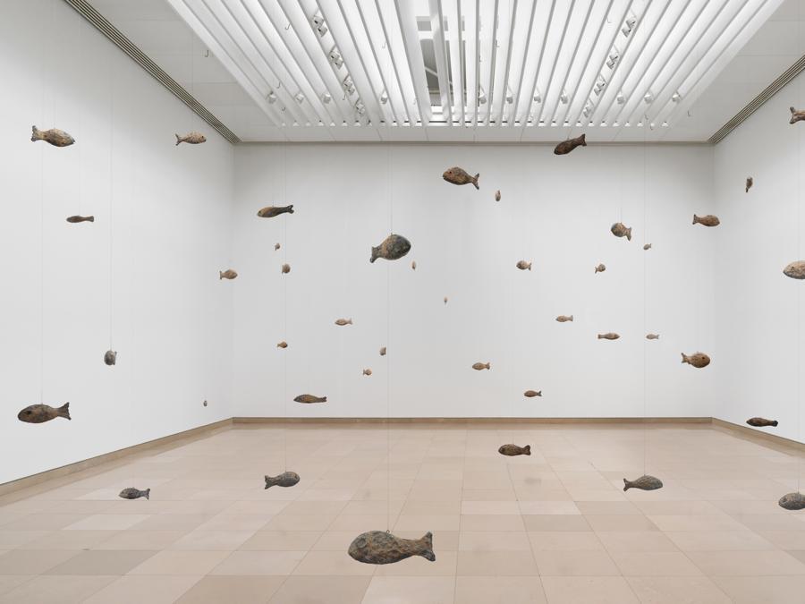Ugo Rondinone, Becoming Soil, Carré d'Art, Musée d'art contemporain, Nîmes, 2016, Courtesy the artist and Esther Schipper, Berlin Photo © Stefan Altenburger