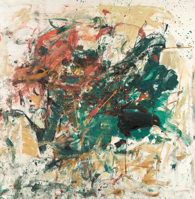 Joan Mitchell, Noël, 1961-1962, stima 9,5-12,5 milioni di dollari, venduto per 11.062.500 dollari, Courtesy Phillips