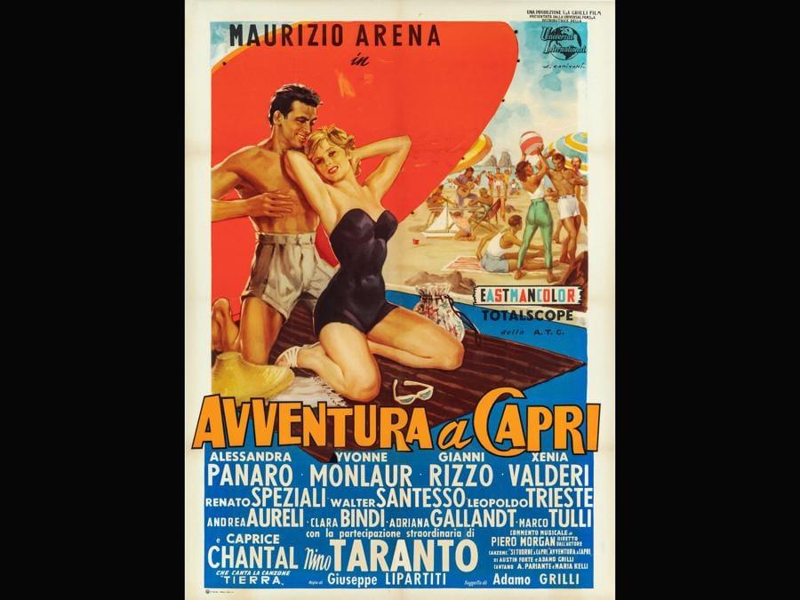 Avventura a Capri 1958. Regia Giuseppe Lipartiti
