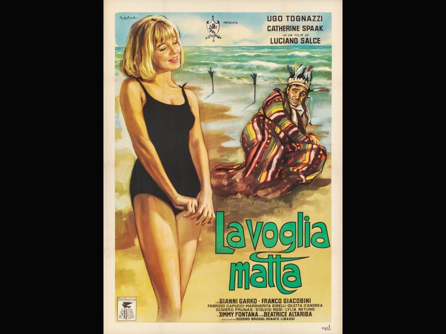 La voglia matta 1962. Regia Luciano Salce