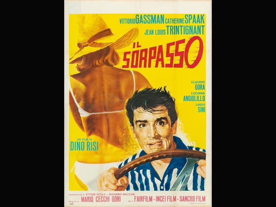 Il sorpasso 1962. Regia di Dino Risi