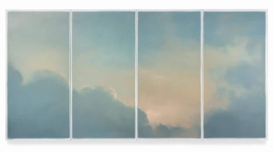 Gerhard Richter, Wolken (fenster), 1970, est. £9-12 million (Custom)