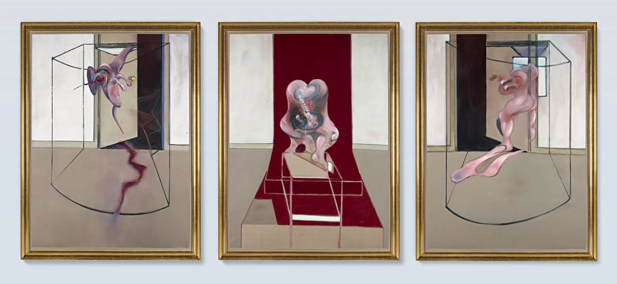 10370 Lot 105 - Francis Bacon, Triptych Inspired by the Oresteia of Aeschylus