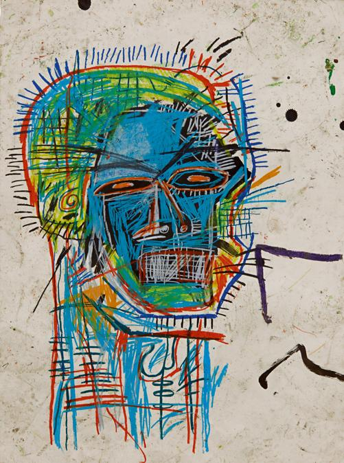 10370 Lot 103 - Jean-Michel Basquiat, Untitled (Head)