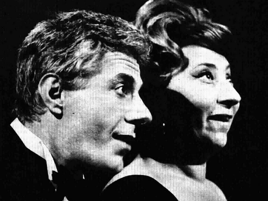 Gianrico Tedeschi e Linda Volonghi