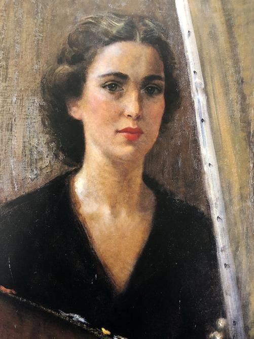 Carla Maria Maggi, Autoritratto 1937, 70x50 cm
