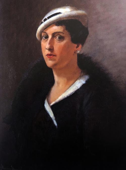Carla Maria Maggi, Mia madre 1933, 80x62