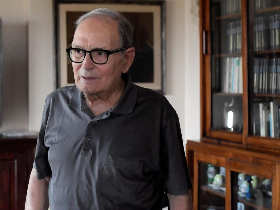 Ennio Morricone (Photo by TIZIANA FABI / AFP)