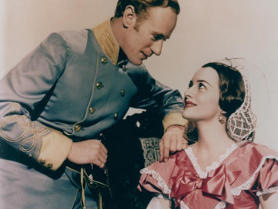 Olivia de Havilland e Leslie Howard «Via col vento» 1939 MGM (Reuters)