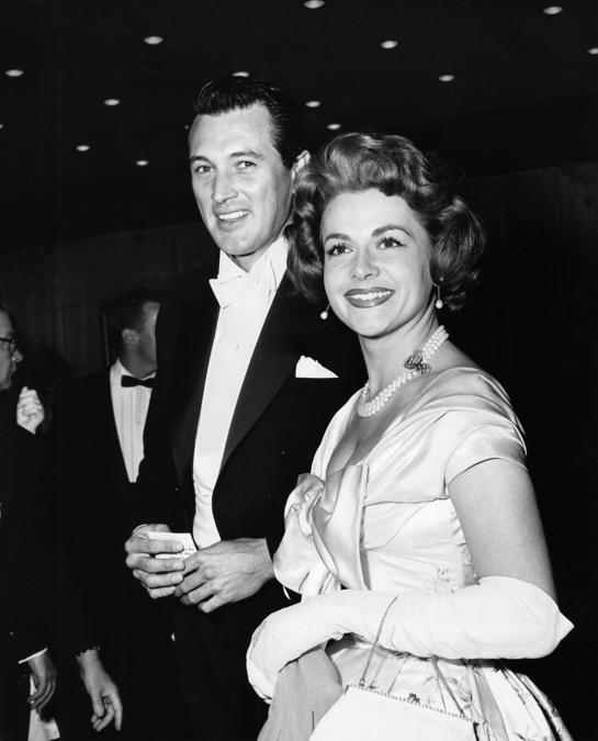 Rock Hudson e Olivia de Havilland 1963 (© 1978 Lou Jacobs Jr. Reuters)
