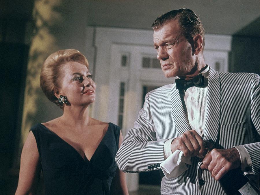 «Piano... piano, dolce Carlotta» Olivia de Havilland, Joseph Cotten 1964 20th Century Fox  (Reuters)