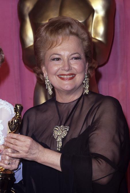 "Olivia de Havilland a ""The 50th Annual Academy Awards"" 1978 (© 1978 Gary Lewis - Reuters)"