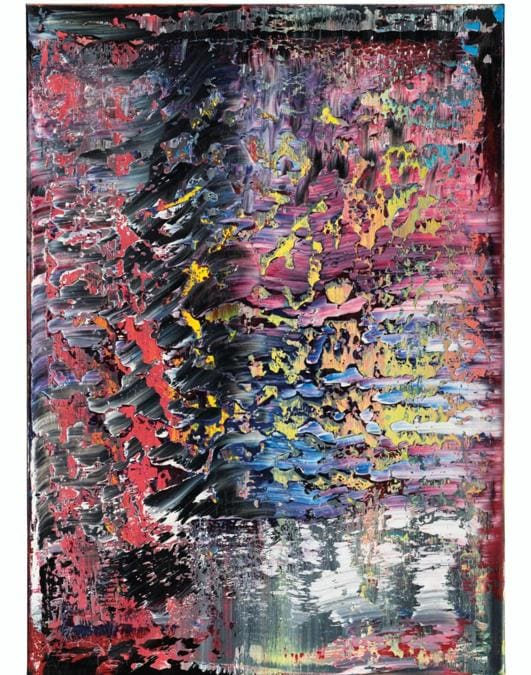 Gerhard Richter (b. 1932), Frost (1), 1989. Oil on canvas. 55⅛ x 39⅜ in (140 x 100 cm). Sold for HK$79,255,000 on 10 July 2020 at Christie's in Hong Kong. © Gerhard Richter 2020.