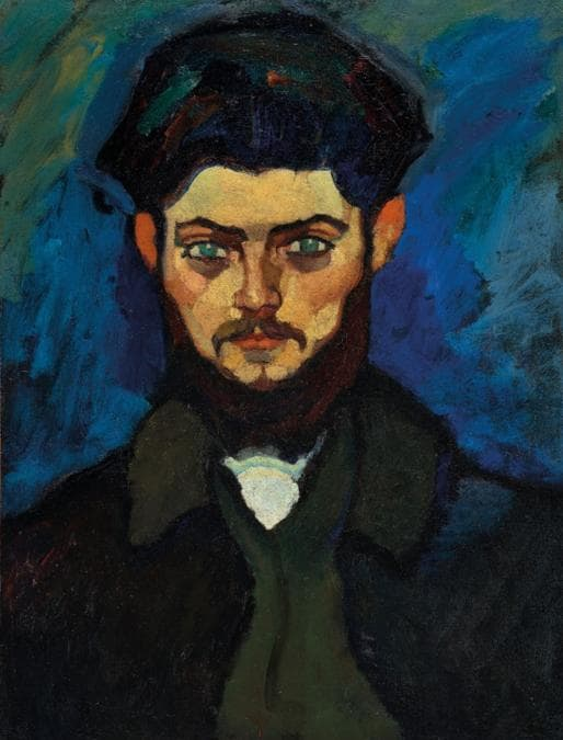Amedeo Modigliani (1884-1920), Portrait of Maurice Drouard, 1909. Oil on canvas. 23¼ x 17¼ in (59 x 44 cm). Sold for €4,485,500 in ONE: A Global Sale of the 20th Century on 10 July 2020 at Christie's in Paris