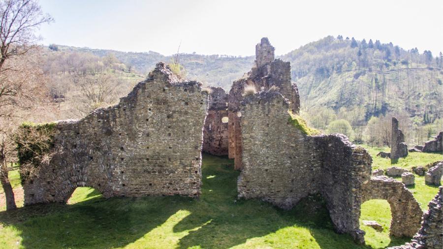 Il progetto di restauro conservativo dell'Abbazia di Corazzo (Carlopoli - Catanzaro) - Prima dell'intervento di restauro