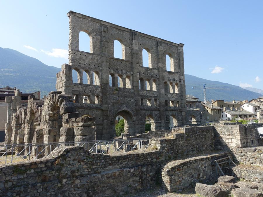 Il teatro romano di Aosta