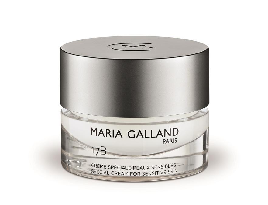 Maria Galland Paris_17B Crème Spéciale Peaux Sensibles, una trattamento dall'effetto lenitivo grazie a un mix di vitamine e estratti vegetali. Una crema ricca che aiuta a preservare il naturale equilibrio della pelle